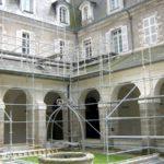 Rénovation des pierres de la gendarmerie de Quimperlé