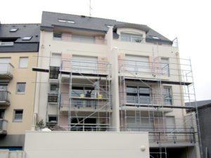 Ravalement d'immeuble à Quimper
