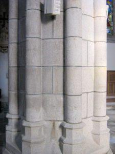 Entretien de pierres de l'église Saint Mathieu à Quimper