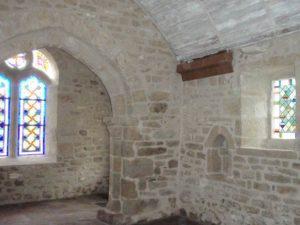 Restauration du patrimoine, la chapelle de Pors-Bihan à Loctudy.