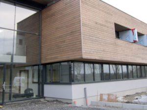 Isolation thermique extérieur du CIS à Landerneau