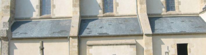 Enduit de l'église de Plouarzel