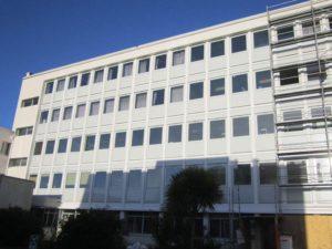 Ravalement de lycée à Lorient