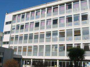 réparation béton du lycée Marie Le Franc à Lorient