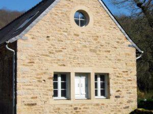 Rénovation d'un ancien moulin