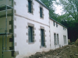 Rénovation de patrimoine, le Manoir des Indes à Quimper