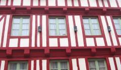 peinture de façade ancienne