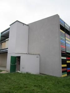 Isolation de batment public Collège st pol de léon