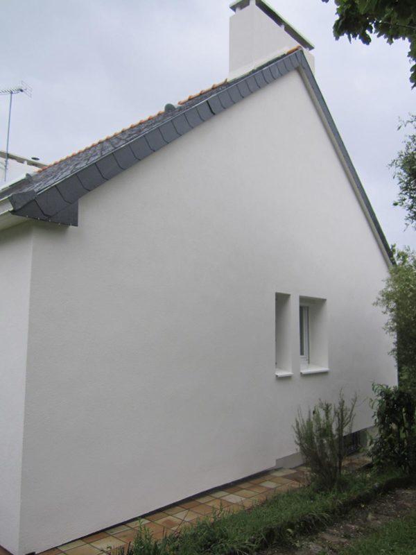 Isolation extérieure des murs