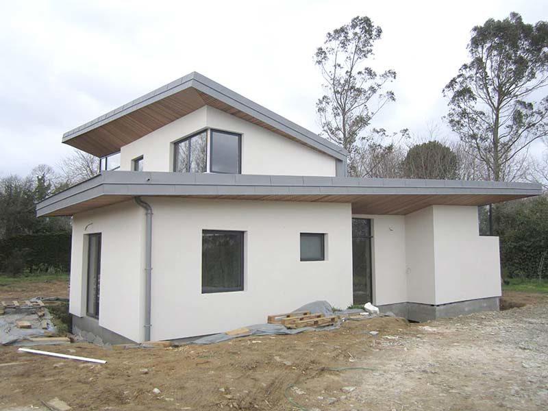 Isolation de maison dans le sud finist re pierre poupon - Isolation exterieur maison neuve ...