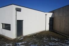 isolation de façade de l'école de Coray