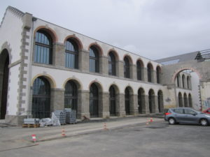 Rénovation de façade aux capucins à Brest