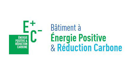logo label E+C-