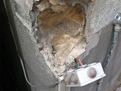 comment réparer du béton