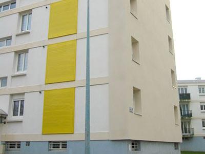 ITE dans un immeuble de Brest