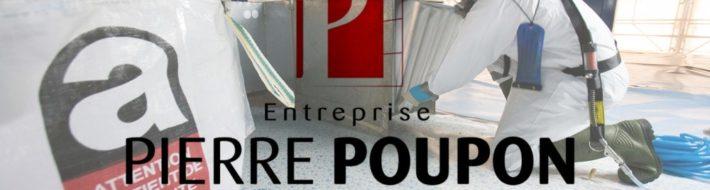 chantier désamiantage Pierre Poupon