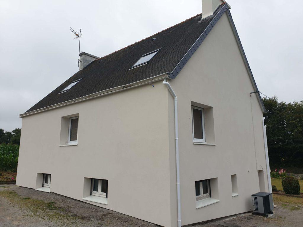 isolation thermique extérieure à Saint-Yvi (29)